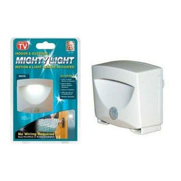 MIGHTY LIGHT MOTION SENSOR LED BATTERY NIGHT LAMP home caravan motorhome